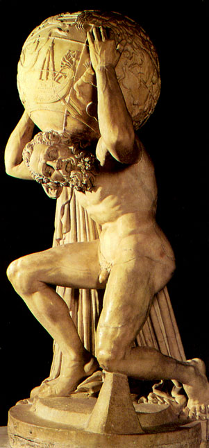 atlas greek god symbol