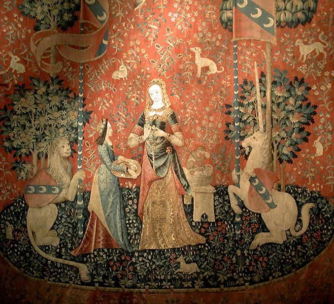 L 39 odorat - La tapisserie de la dame a la licorne ...